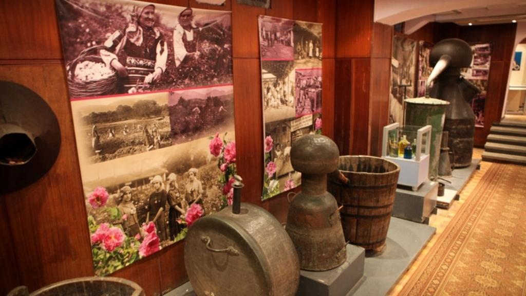 Уникалният музей на розата в Казанлък