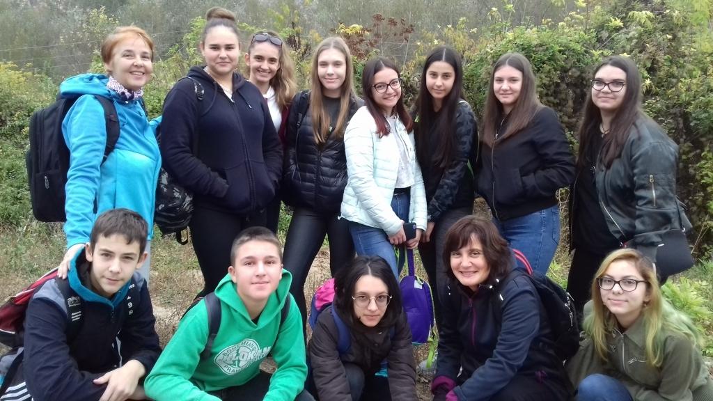 Ученици търсиха съкровищатата на българската земя