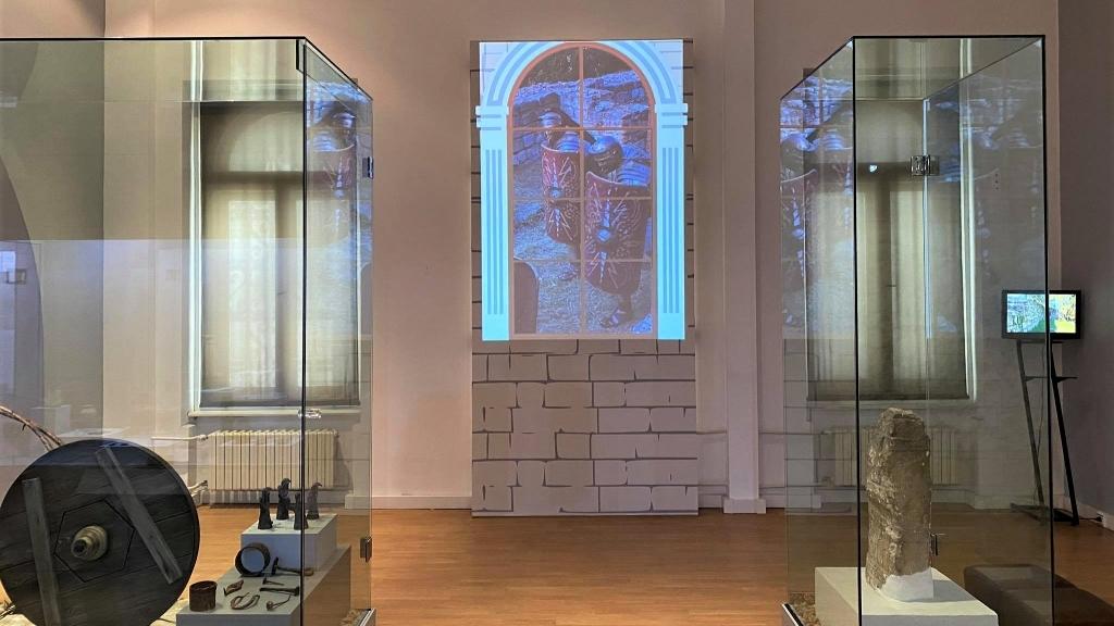 Интерактивен прозорец в РИМ връща посетителите в римската епоха