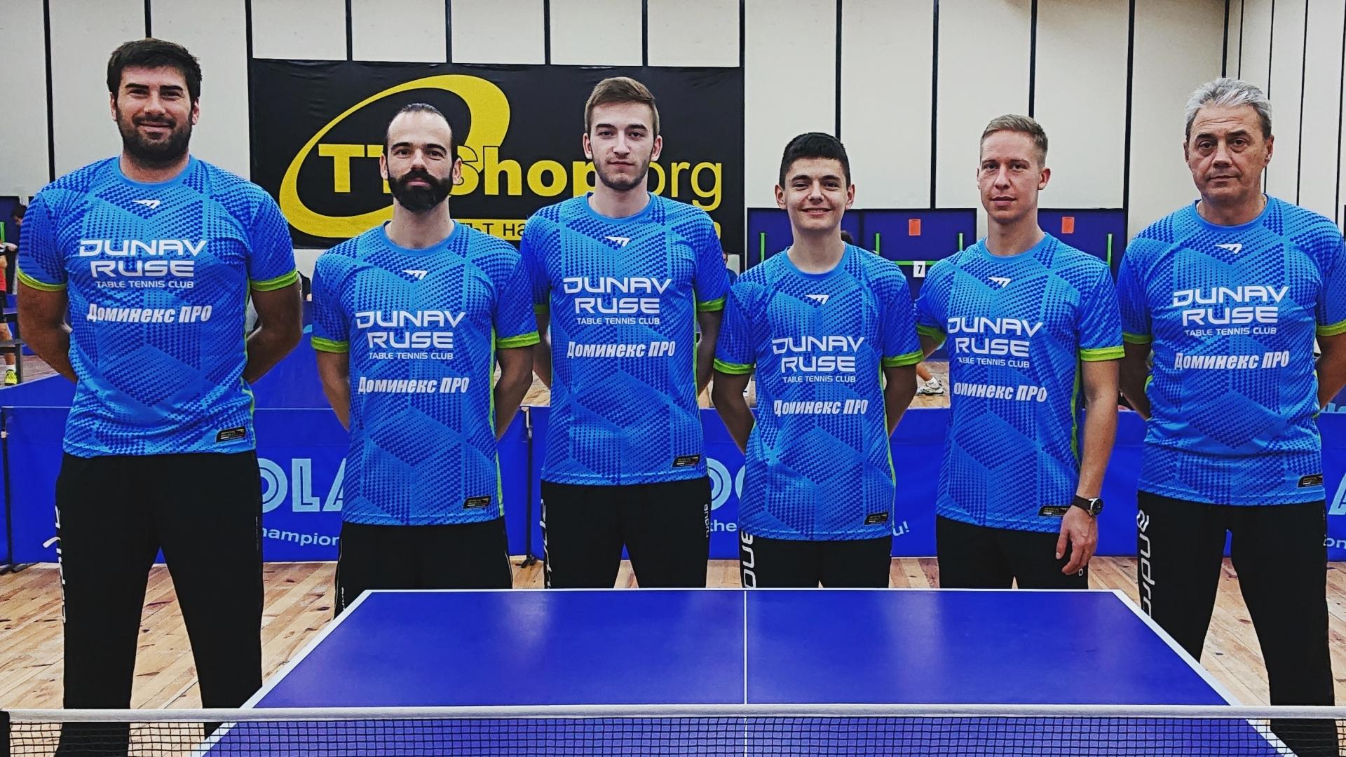 """Клубът по тенис на маса """"Дунав"""" започна с четири от четири победи"""