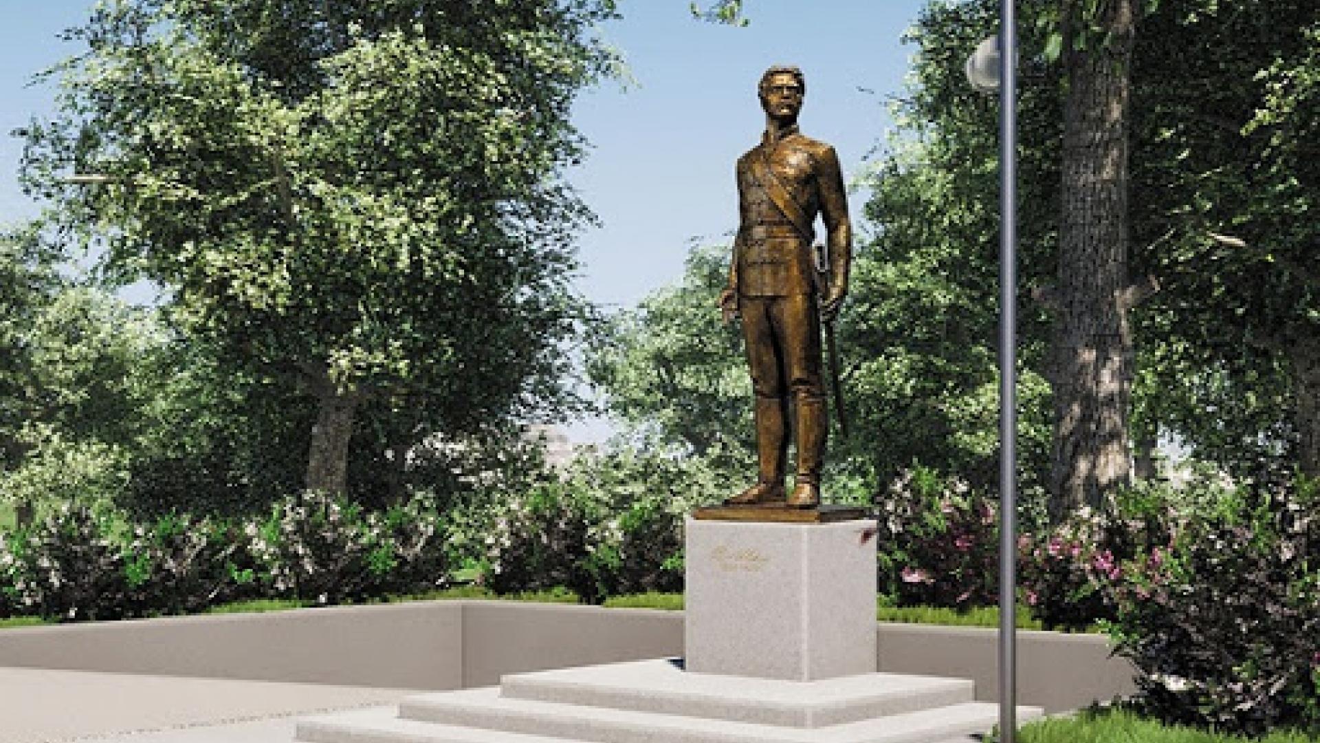 Откриха първия паметник на Васил Левски в Русе