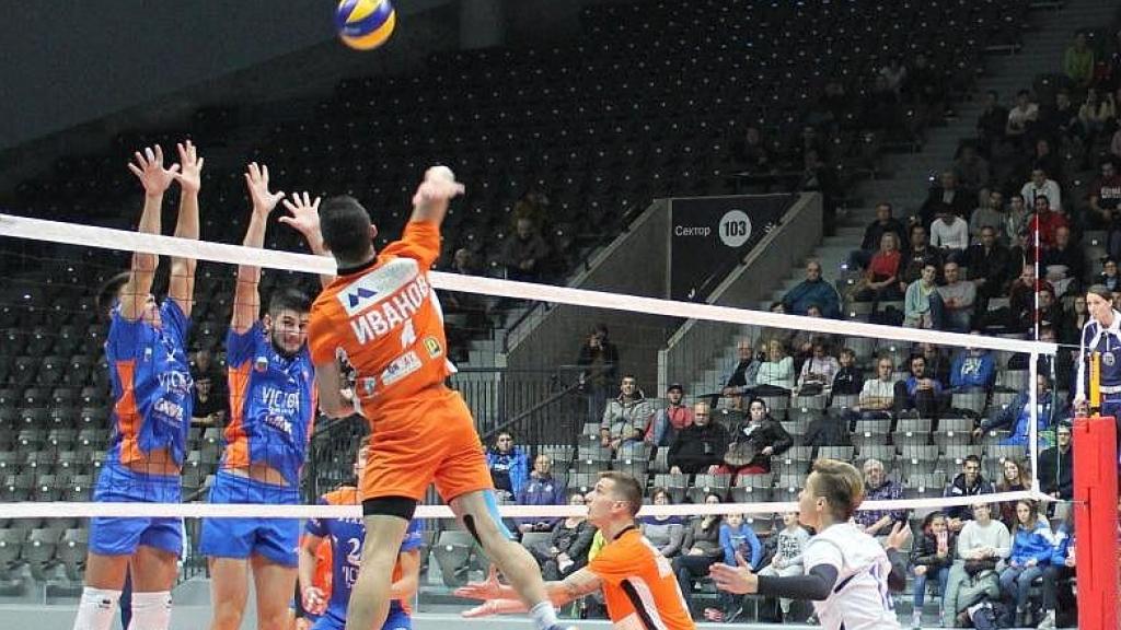 Волейболният Дунав играе срещу Добруджа за Купата на България