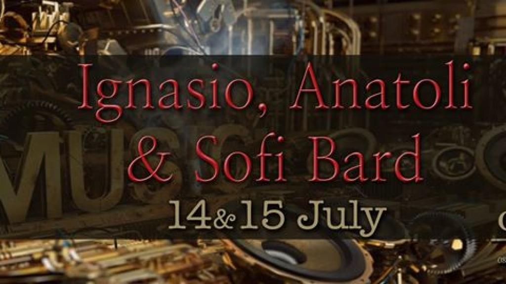 14 - 16 юли 2017 - Софи Бард, Игнасио и Анатоли в Canto