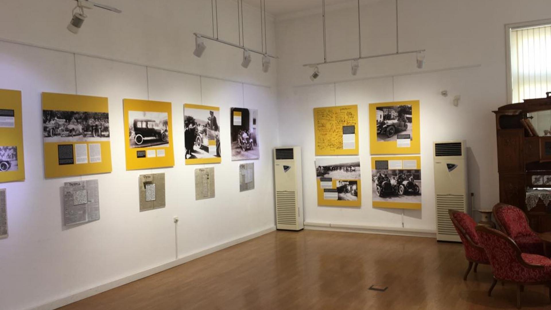 Изложба представя снимки от Рали Будапеща – Константинопол от 1912 г.