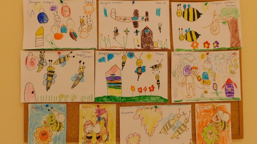 """С """"Медени  истории"""" отбелязаха Деня на пчеларя в детска градина """"Слънце"""""""