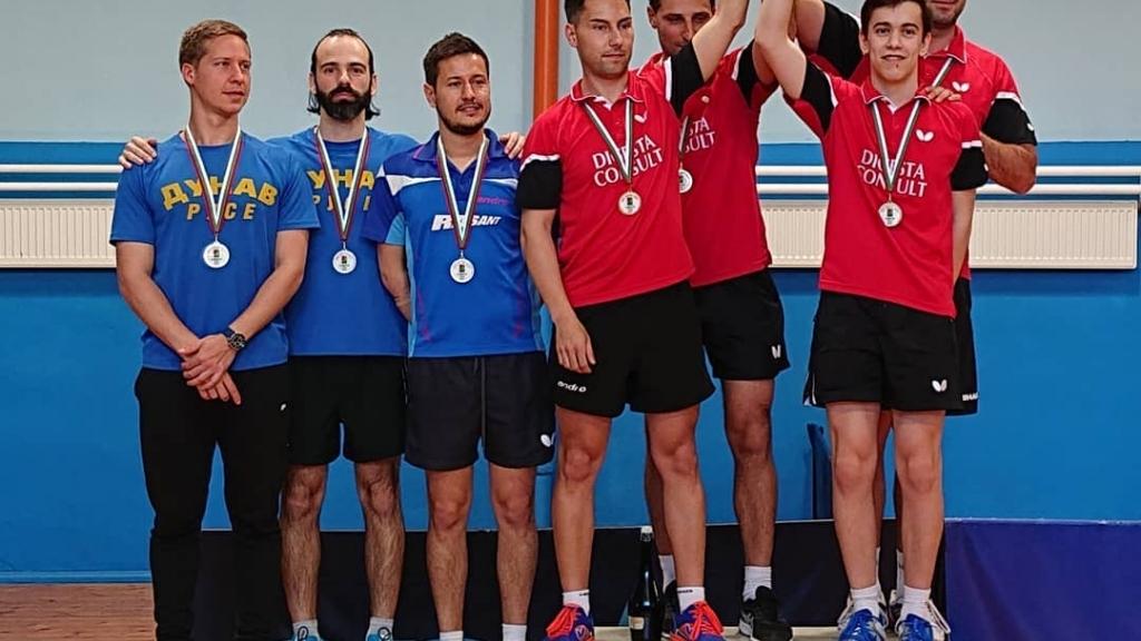 """Две вицешампионски титли за СКТМ """"Дунав"""""""