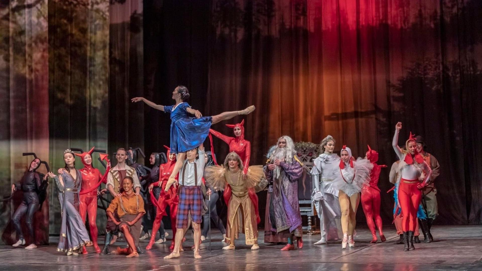 НЕВЕРОЯТНИТЕ ПРИКЛЮЧЕНИЯ НА МОМЧЕТО ЯН БИБИЯН балет в едно действие