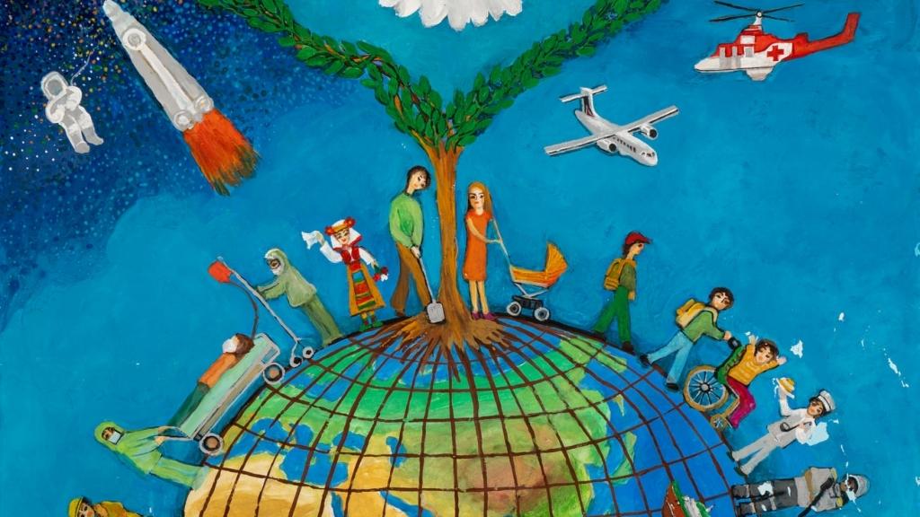 """Виктор Петров от Русе с международна награда за """"Плакат на Мира"""""""