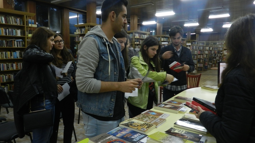 Нощ на литературата в библиотеката