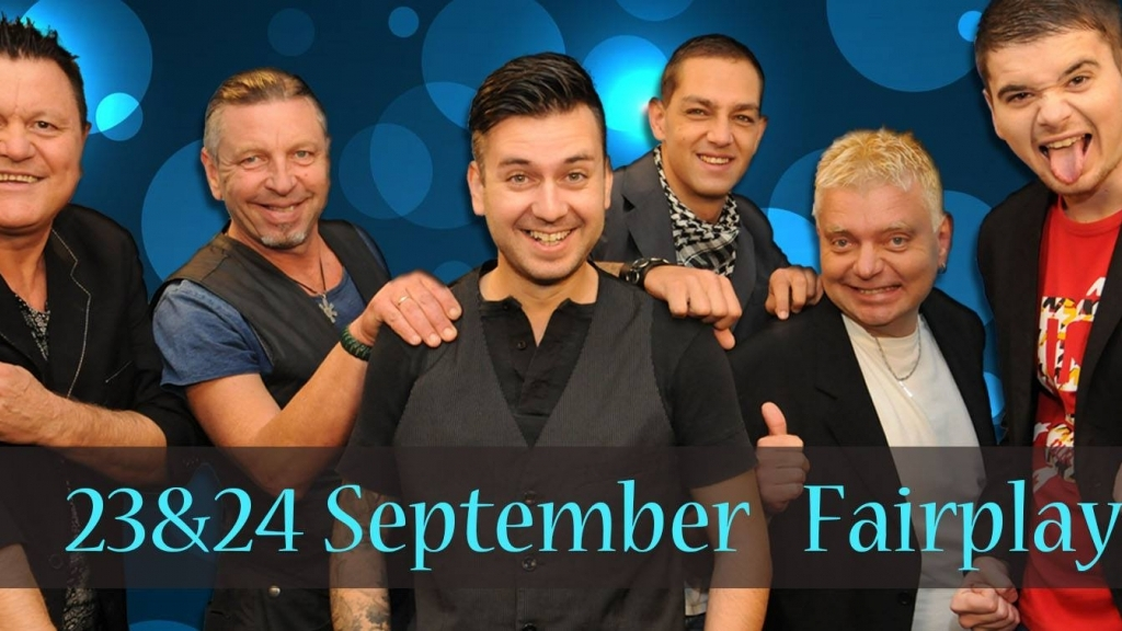 23-24 септември 2016 - Fairplay Band в Live Club Canto