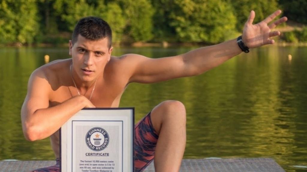 Русенецът Теодор Цветков ще стартира благотворителното си плуване в река Самара