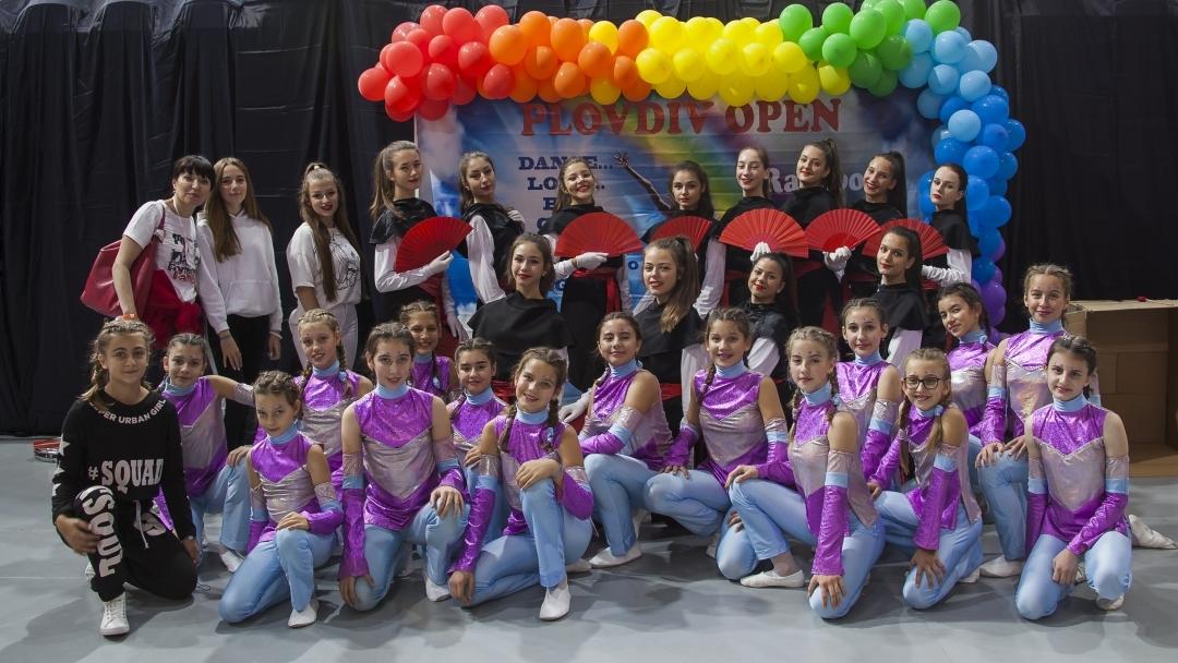 """Гран при и 5 първи награди за Формация за модерен балет """"Мираж"""" към Общински детски център за култура и изкуство"""