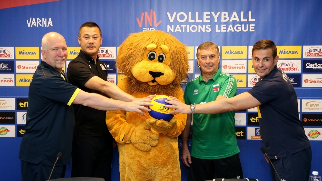 Мъжкият национален тим по волейбол влиза в битка в Лигата на нациите във Варна