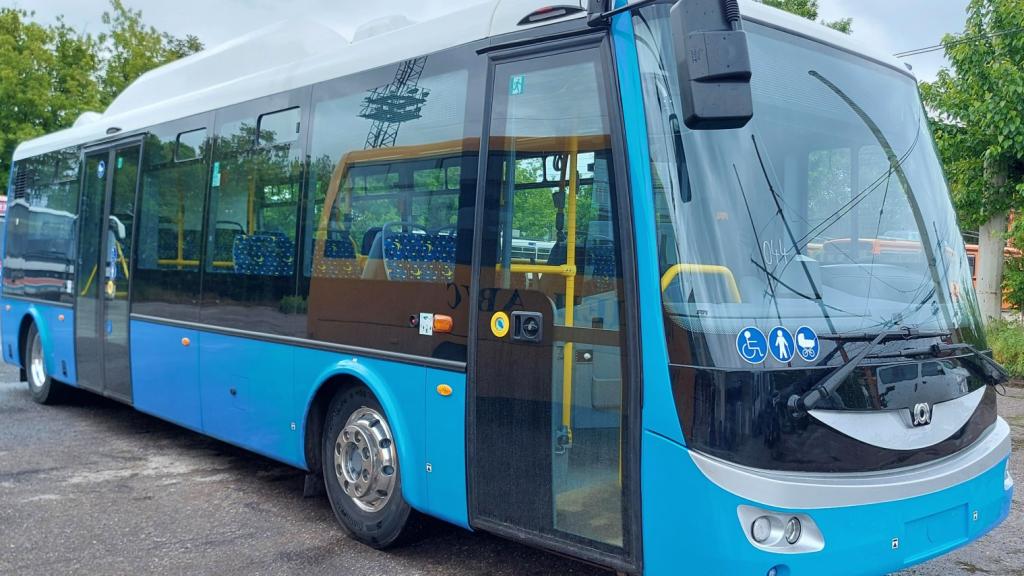 Първият от чешките електробуси тръгна по русенските улици