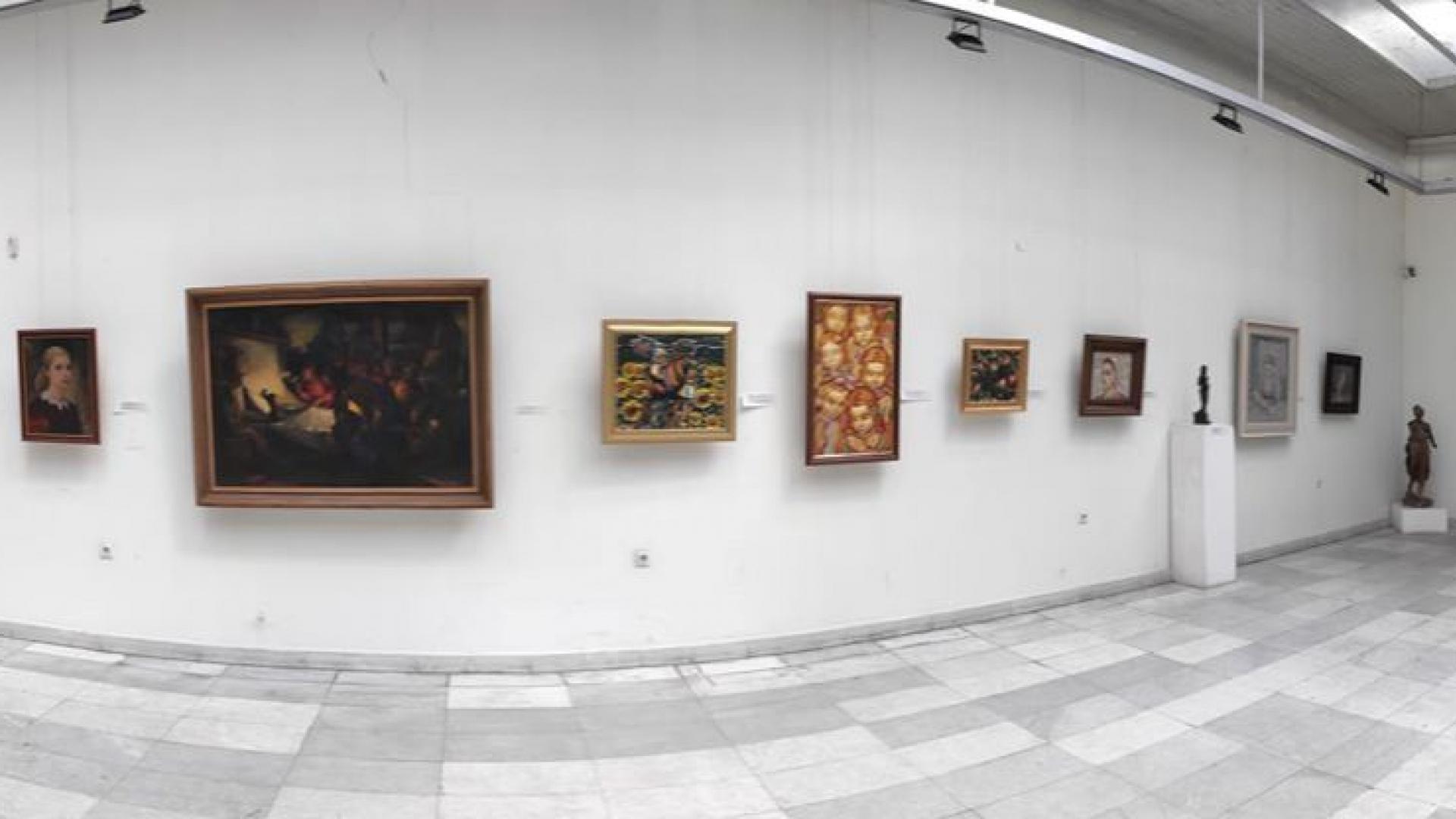 Галерията популяризира визуалното изкуство с проект