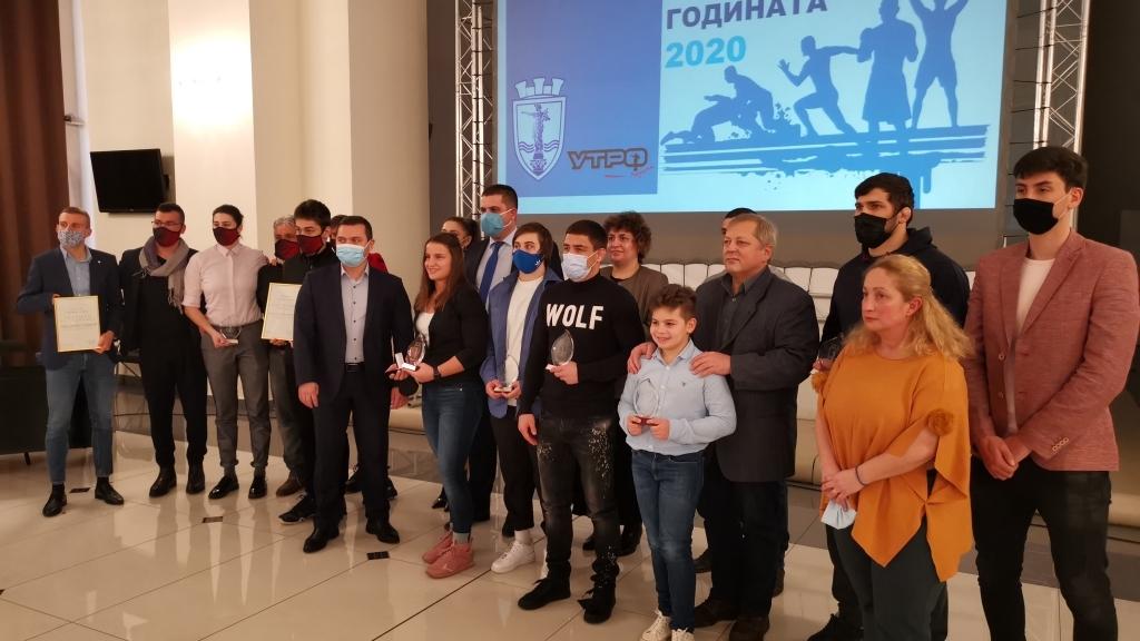 Биляна Дудова е спортист на 2020 година за Русе