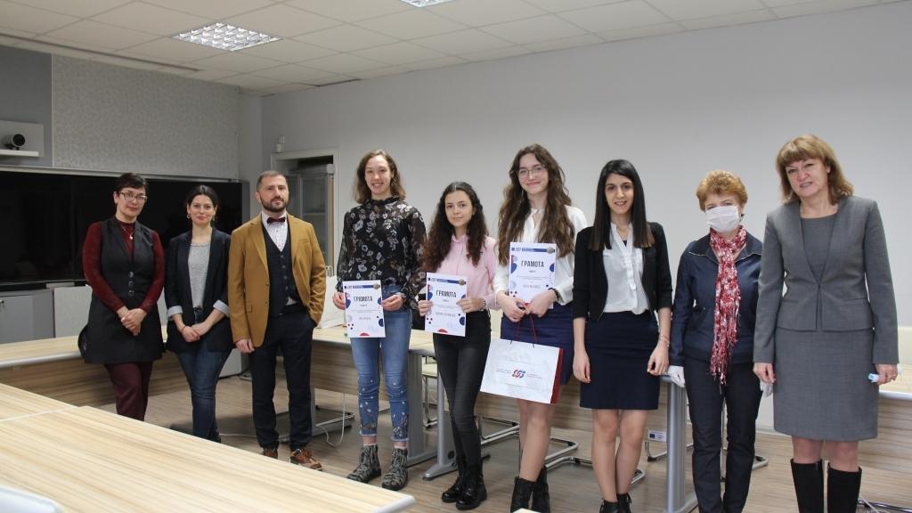 Наградиха победителите в конкурса за есе на Русенска търговско-индустриална камара