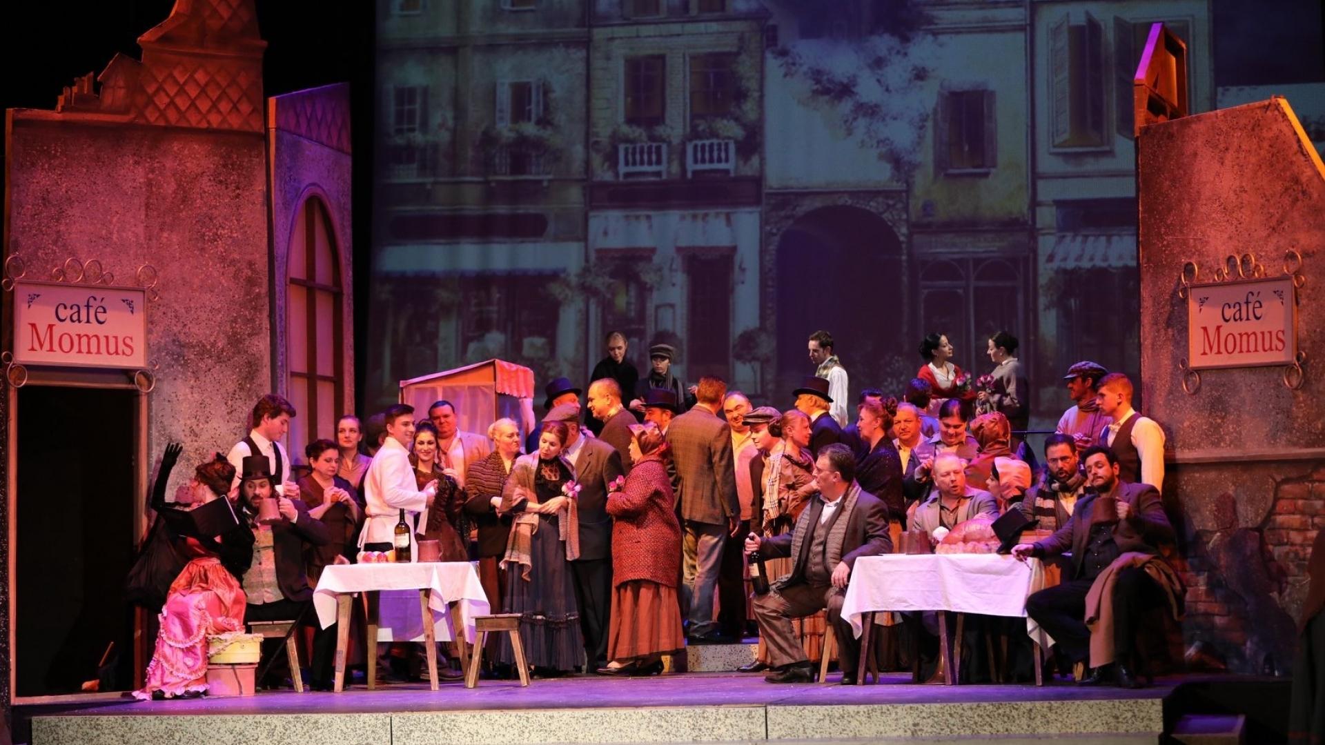 """Операта представя тази вечер """"Бохеми"""""""