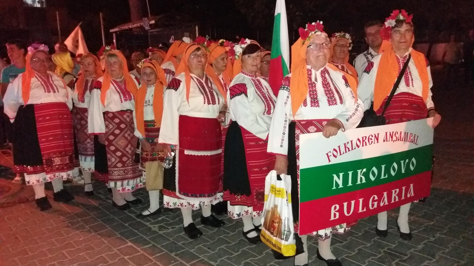 Самодейци от Николово представиха Русе на фестивал в Турция