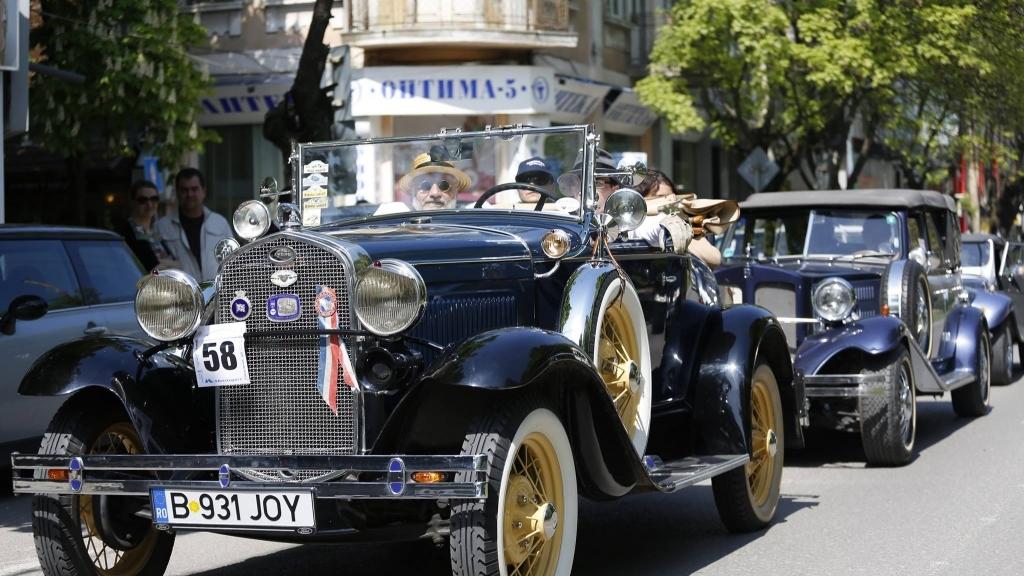 24 юни 2017 - Парад на ретро автомобили