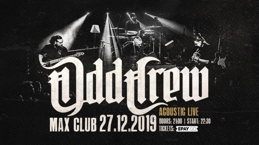 Група ODD CREW с национално акустично турне, ще постят и Русе