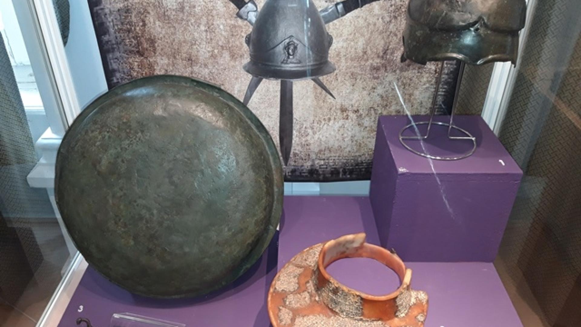 Представят в изложба тракийско въоръжение от I хил. преди Христа