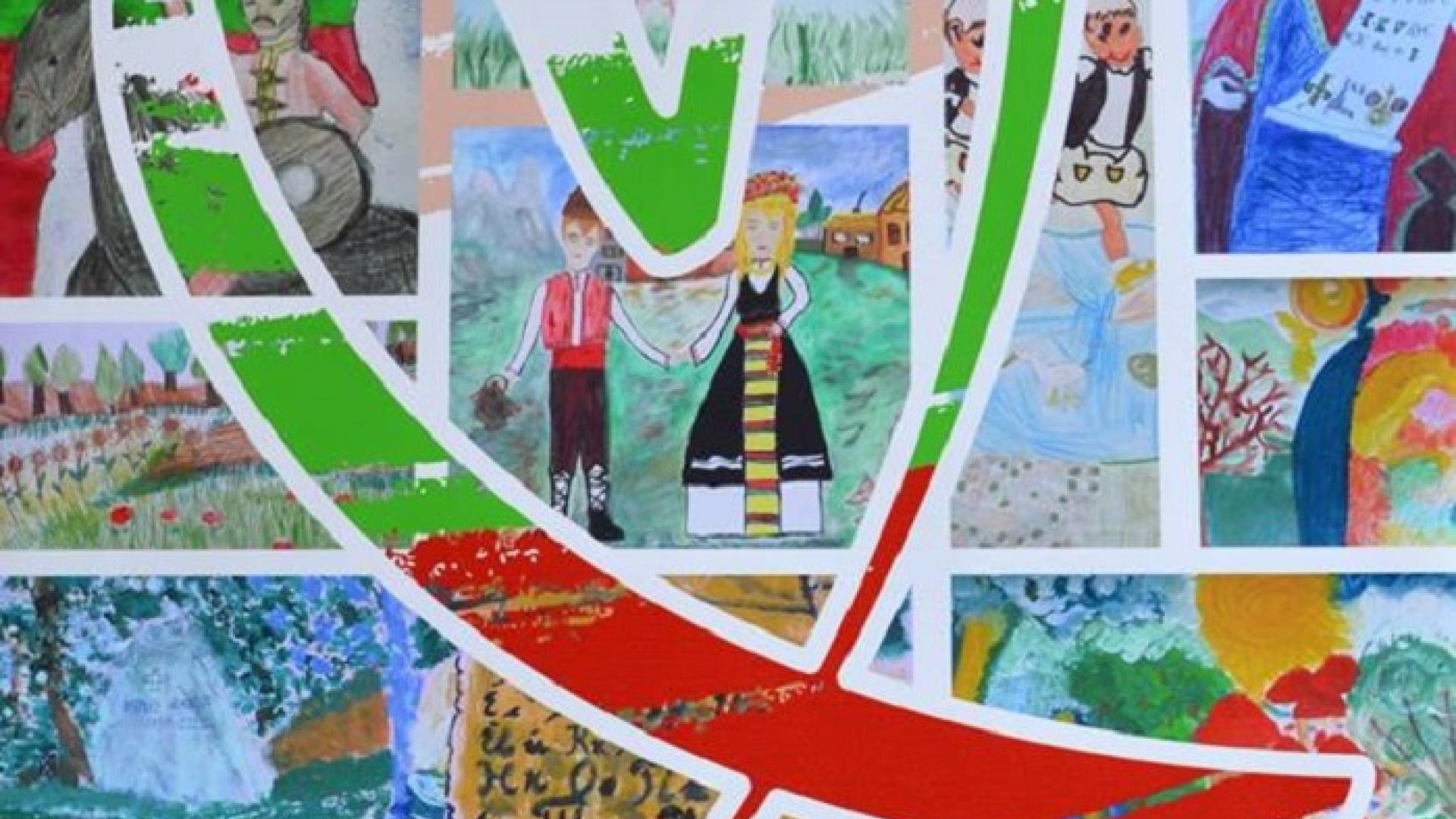Изложба представя с рисунки обичта за България