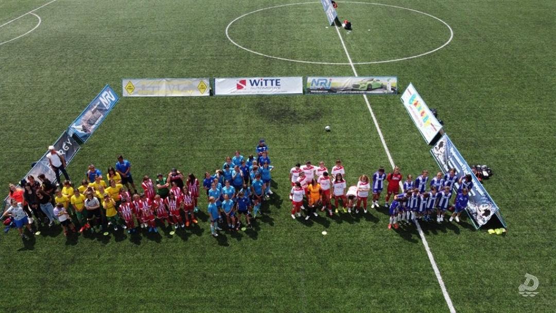"""""""Дунав"""" събра девойки от 6 града за футболен турнир в навечерието на 24 май"""