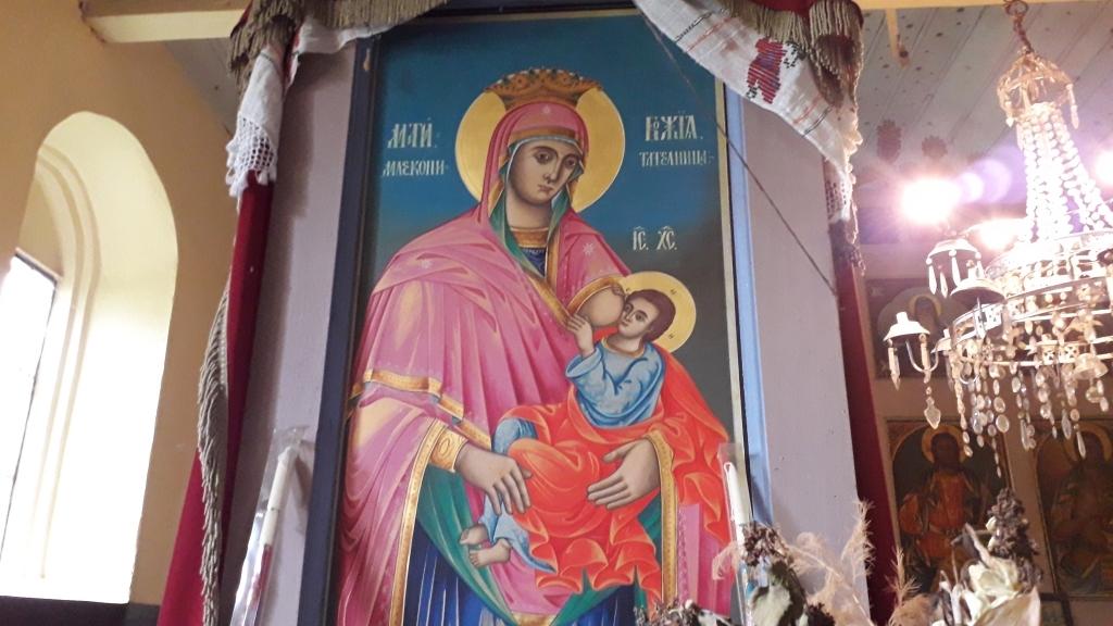 Църквата в с. Пепелина пази осветено копие на чудотворна икона
