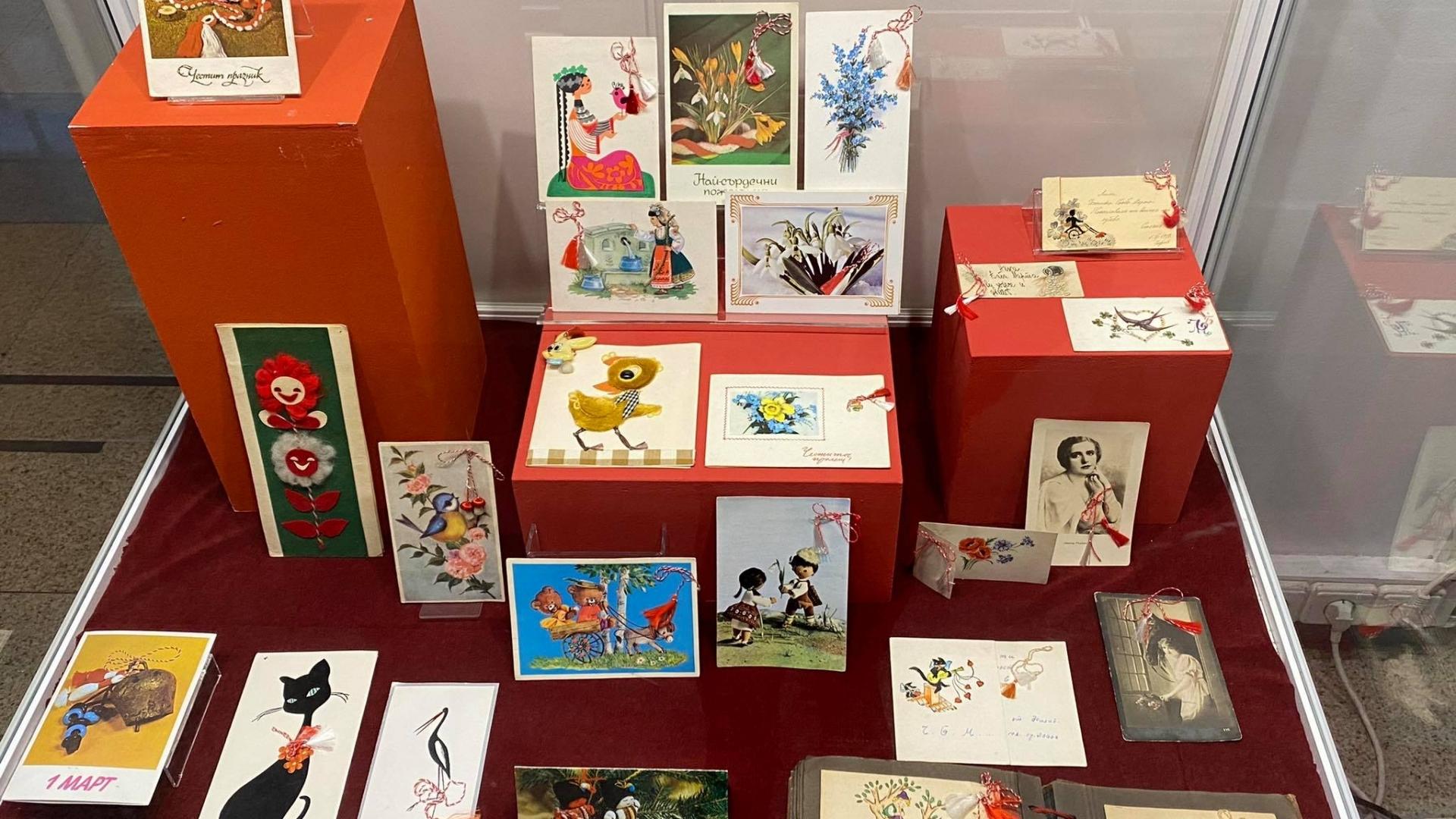 Историческият музей с изложба на първомартенски картички