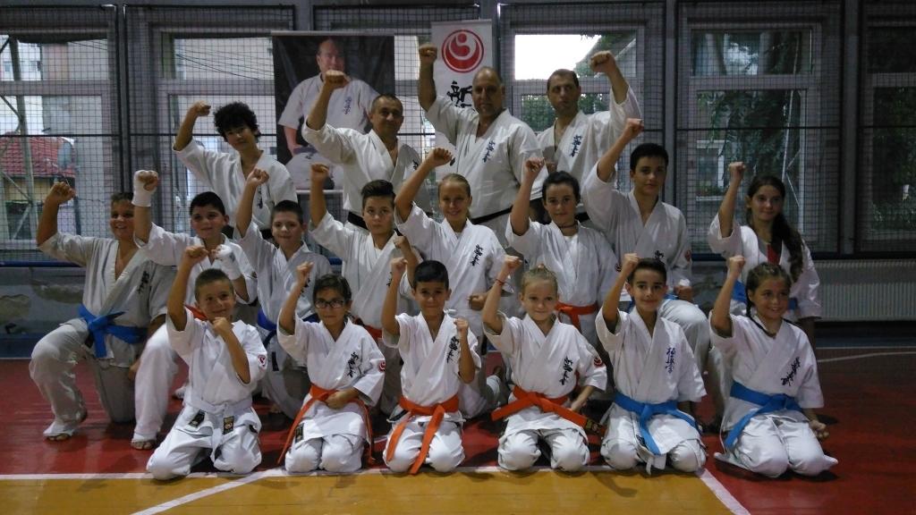 """Традиционният летен изпит за технически степени в """"Спортен клуб Русе"""" завърши успешно"""