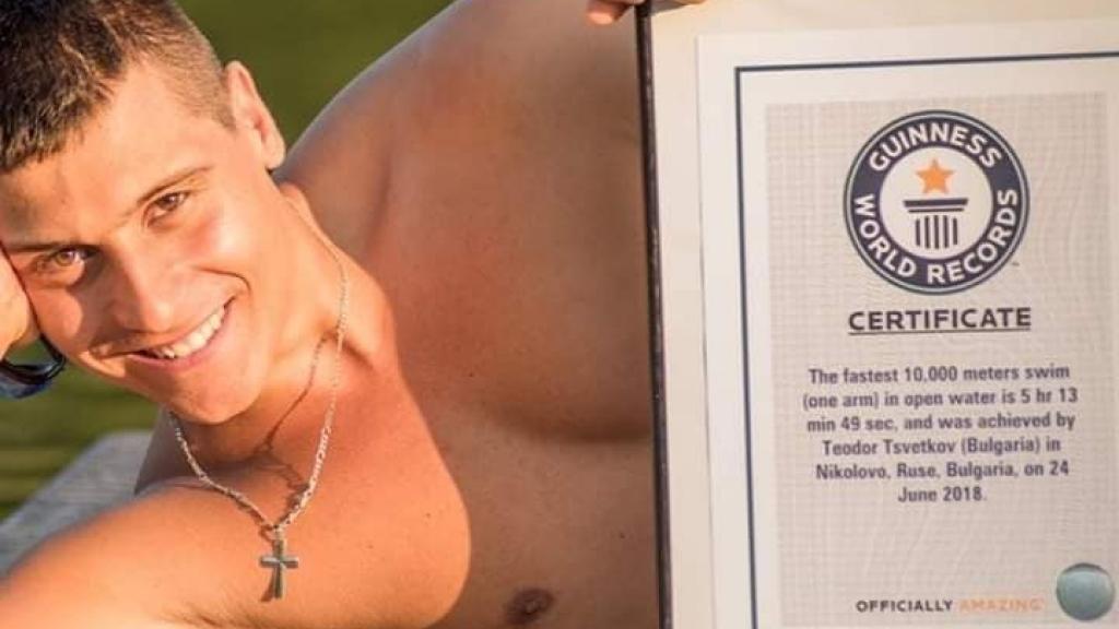 Русенецът Теодор Цветков влезе в книгата на Гинес