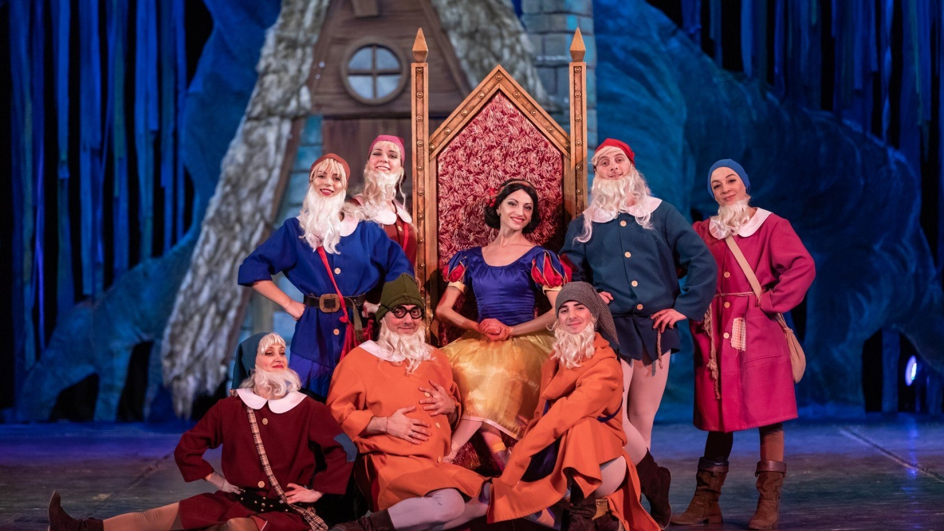 Снежанка и седемте джуджета  балет от Александър Йосифов