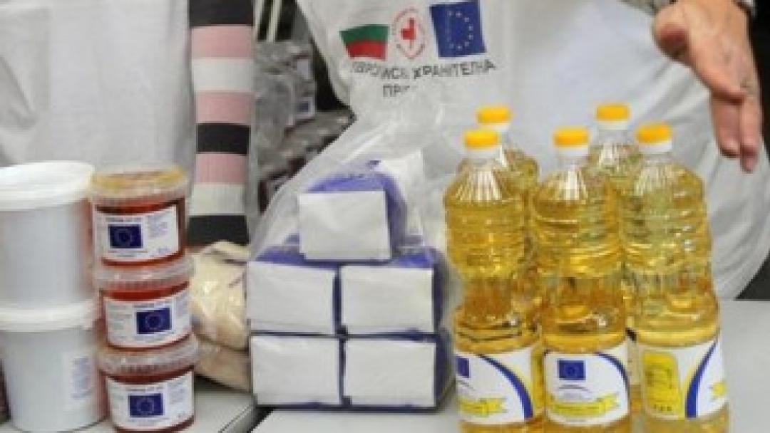 Започва разваването на хранителните помощи на БЧК