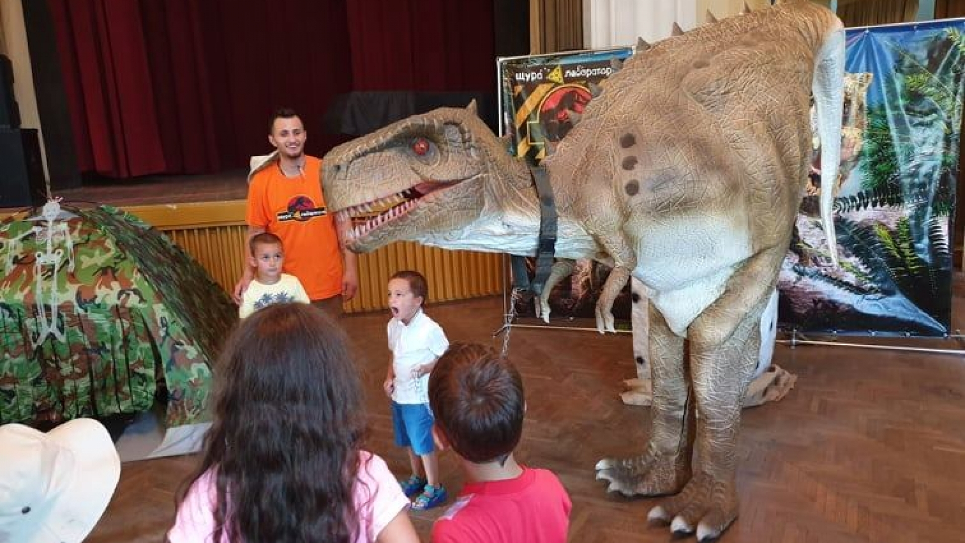 Първото по рода си Динозавърско шоу за деца ще се проведе в Русе