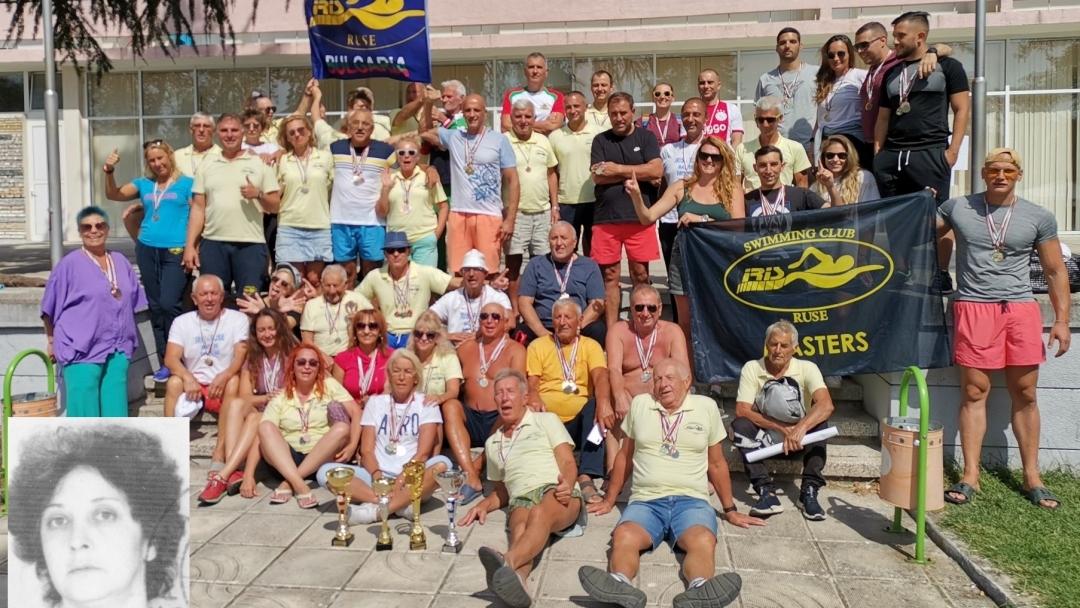 Плувците на ИРИС РУСЕ ВЕТЕРАНИ са комплексен шампион на България за седма поредна година