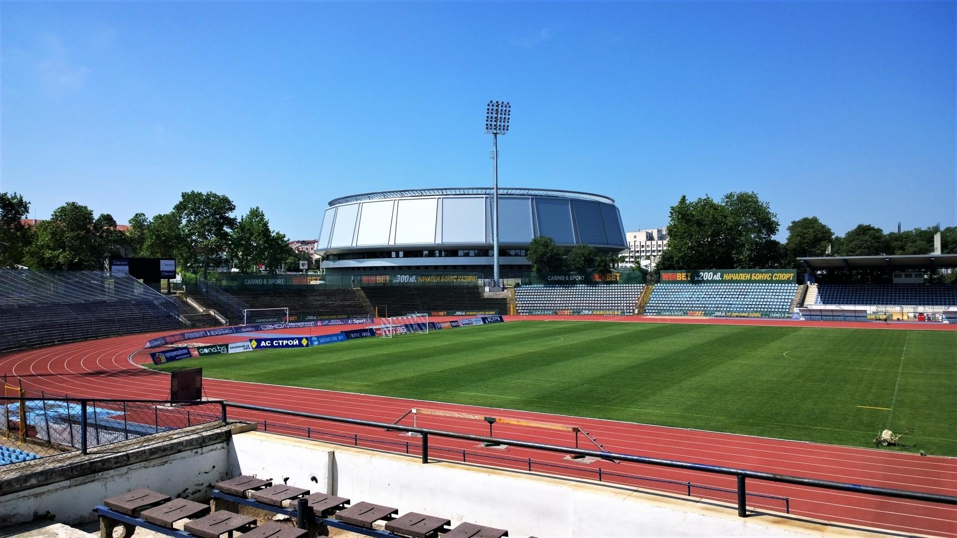 Общината разреши ползването на пистата на Градския стадион в Русе