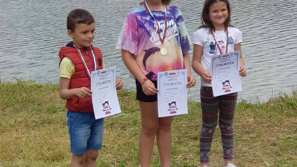 """Състезатели на СМК """"Приста"""" с медали от републикански шампионат"""