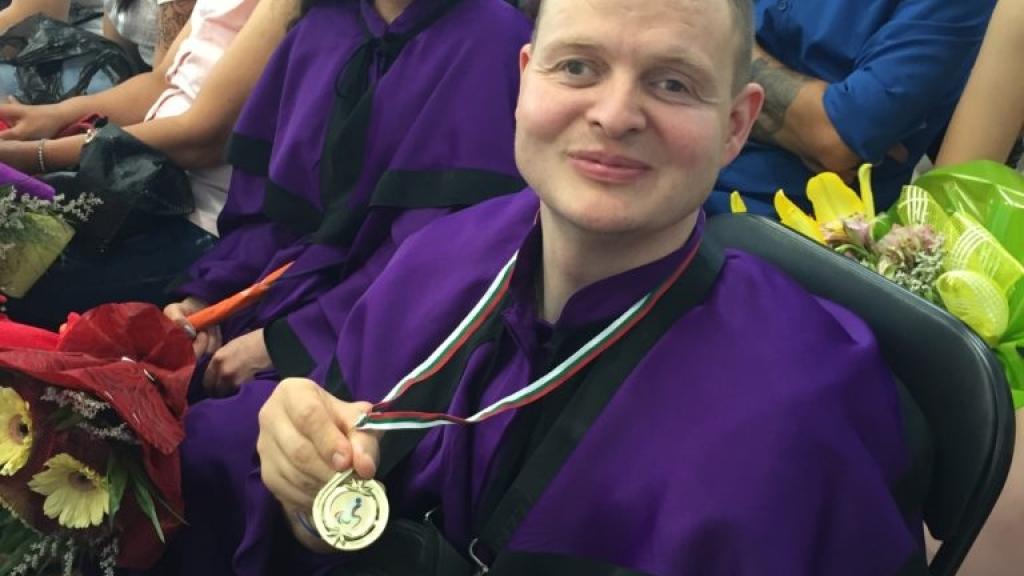 Русенец с първо място на Параолимпийските игри в Бургас