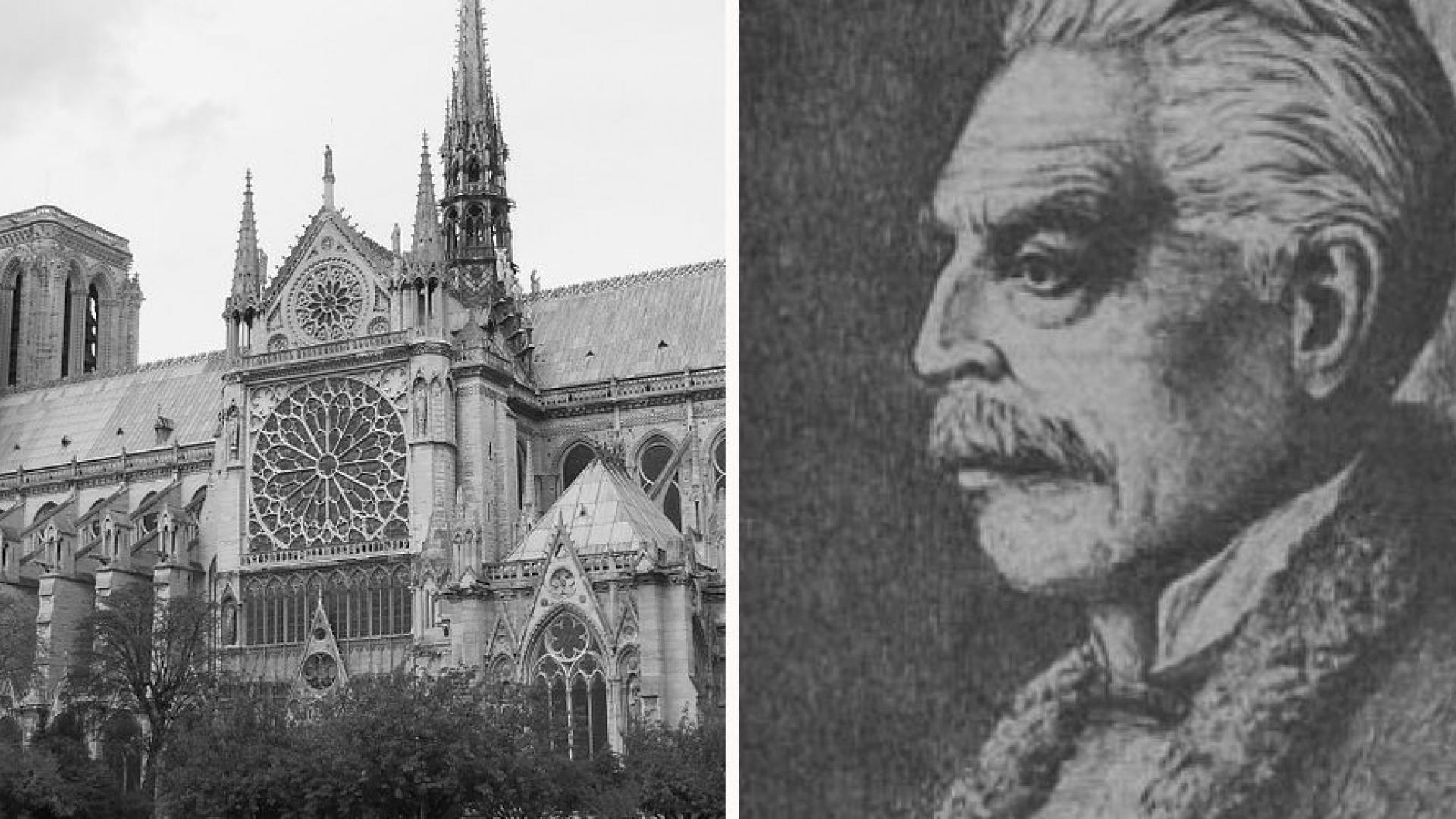 """Легендата за спасяването на парижката катедрала """" Света Богородица"""" от Кольо Фичето"""