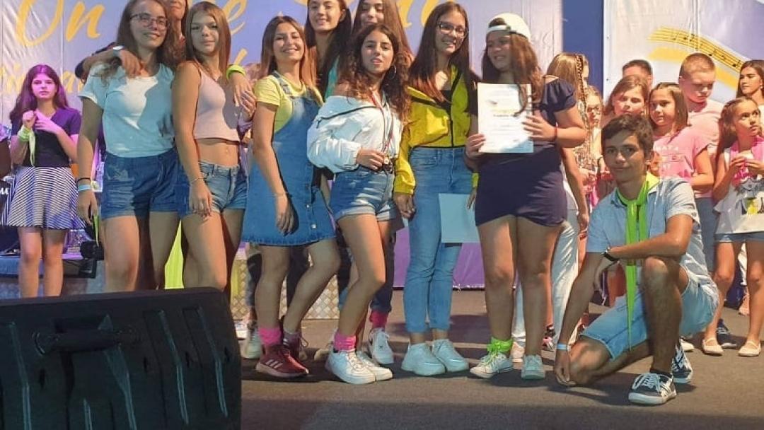 Награди за млади русенски таланти от вокален конкурс в Приморско