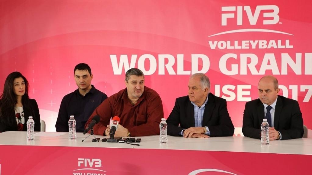 07 - 09 юли 2017 -  Гран При по волейбол за жени - Русе 2017