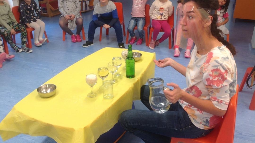 """Детска градина  """"Пинокио"""" с иновативни практики в преподаването по проект """"STEAM – ЛЕСНО И ЗАБАВНО В ДЕТСКАТА ГРАДИНА""""."""