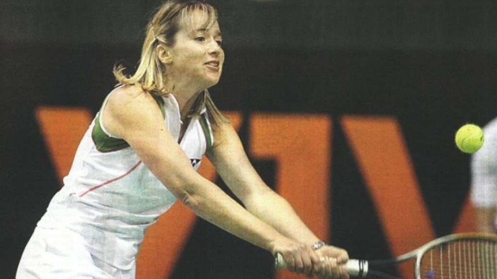 Открит урок по тенис за деца с Мануела Малеева в Русе